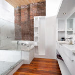 studio loft bathroom