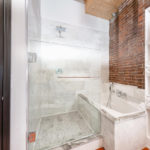 studio loft shower tub