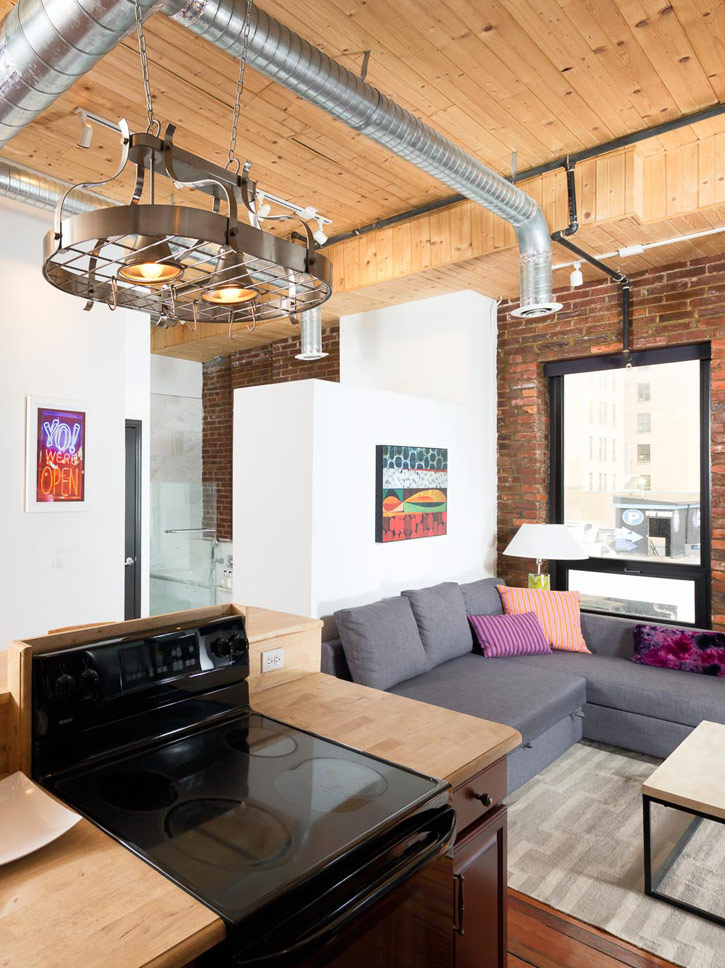 printers alley lofts studio loft nashville