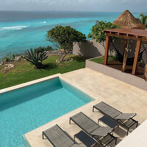 casa amarilla isla mujeres mexico luxury rentals