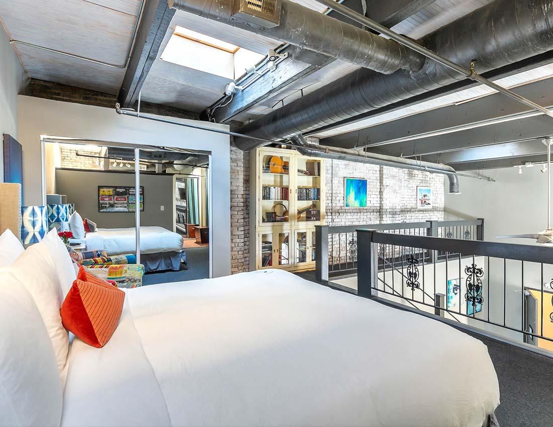printers alley penthouse loft