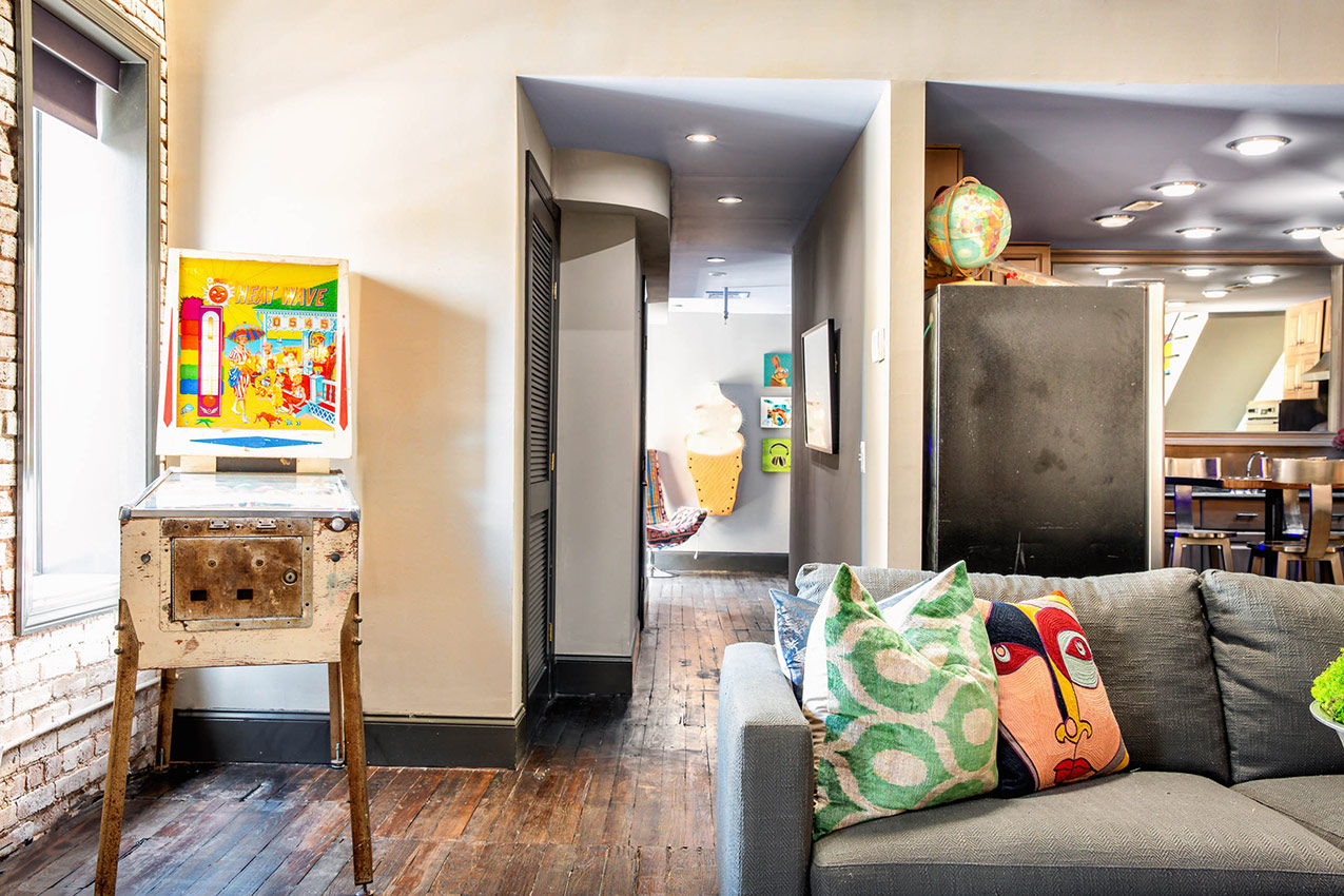 printers alley lofts penthouse loft nashville tn