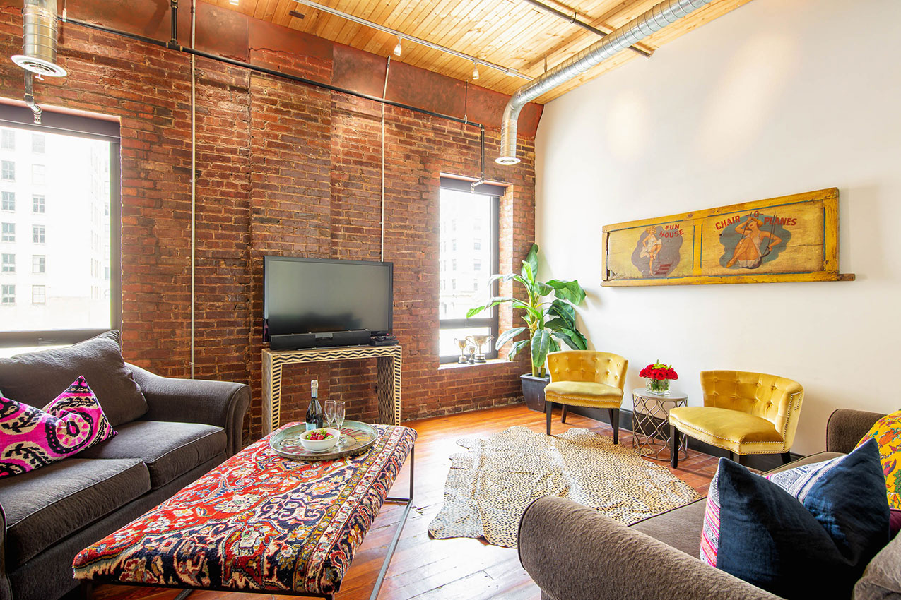 printers alley lofts suite loft nashville tn